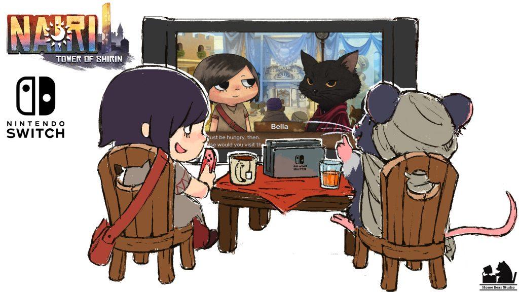 NAIRI, NAIRI: Tower of Shirin, Hound Picked Games, HPG, Indie Game Publishing, Indie Game, Indie Dev, Indie Developer